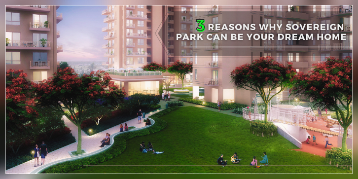 rendering of sovereign park a dream home project by the vatika group