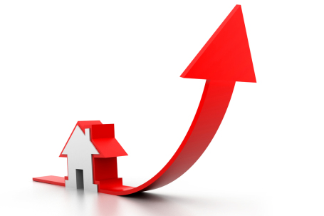 Graph of Property prices in Jaipur