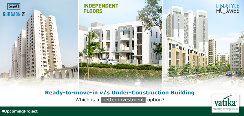 ready to move vs under construction