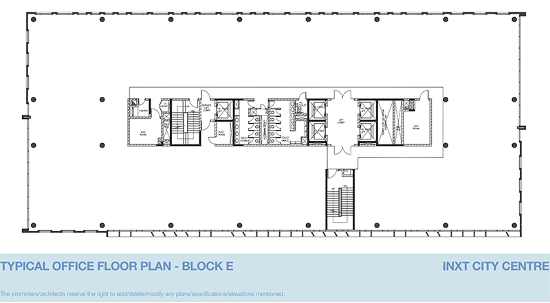 Floor Plan: INXT City Centre – Offices